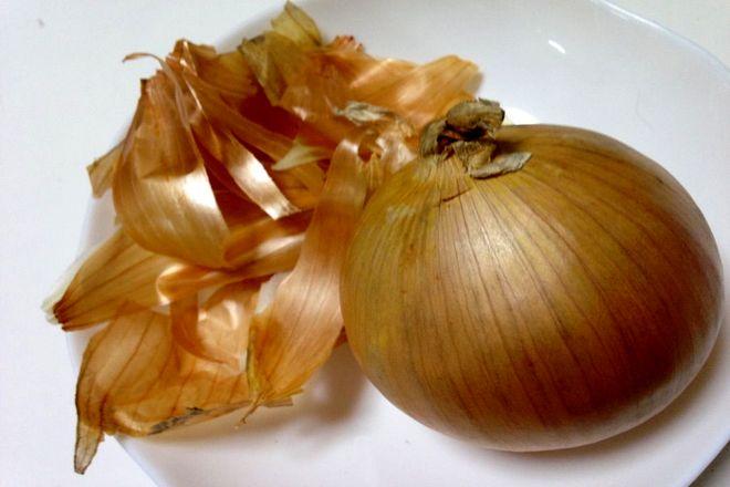 玉ねぎの薄皮煮(材料)