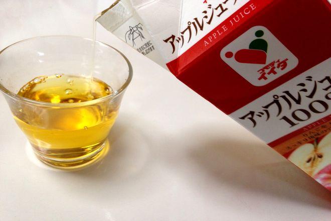 リンゴジュース(果汁100%)