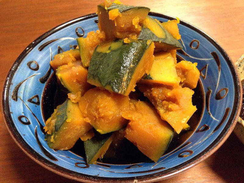 精力回復レシピ|カボチャの煮付け