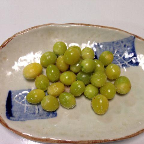 精力強化レシピ|銀杏(ぎんなん)の処理と食べ方